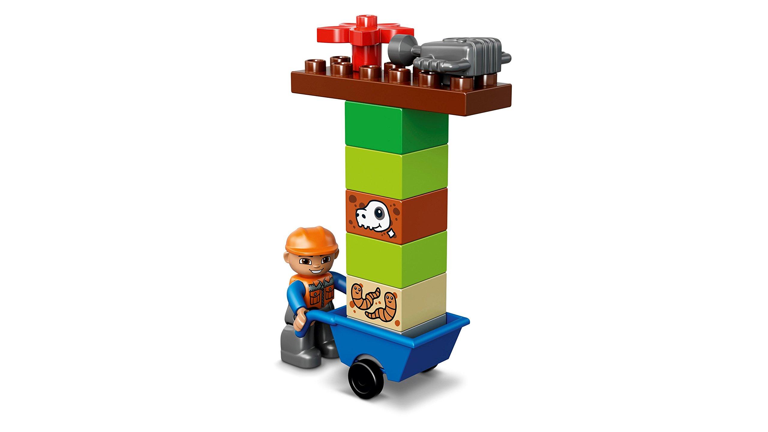 LEGO Duplo Camion e Scavatrice Cingolata con Due Personaggi, Set di Costruzioni per Bambini da 2-5 Anni, Multicolore… 5 spesavip