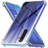 Ferilinso Coque pour Realme 6/Realme 6S/Realme Narzo Coque, [Renforcer la version avec quatre angles] [Protection de l'entretien de la caméra] Étui de protection en caoutchouc TPU souple (Transparent)