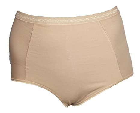595d5231f92c Ladies Ex M&S Cotton Rich Firm Control Knickers. Sizes 8-22.: Amazon ...
