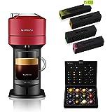 Krups Nespresso Vertuo Next rouge + 52 capsules Nespresso offertes, Machine à café 1,1 L, Café filtre Espresso, Café grande t