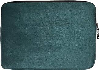 "Khooti Laptop Sleeves D3 Laminated Italian Fabric Eden Green 14"""