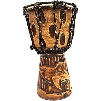 Djembe 50cm Trommel Bali Dotpaint Afrika Bongo Drum bemalt Handarbeit