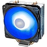 DEEPCOOL GAMMAXX 400 V2 Mavi CPU Soğutucu, 120mm PWM Fan, Intel/AMD, Mavi LED