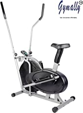 Gymally NB-OR4; Imported Orbitrek Multi-function; Exercise Bike; Cycle; Cross Trainer; Sitting Pedaling/Standing Rowing