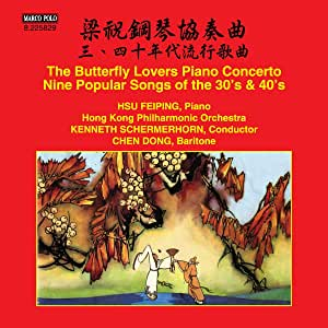 Butterfly Lovers Piano Concerto - Nine Popular