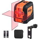 Livella laser, Tacklife SC-L01 Laser a Croce Autolivellante Misuratore a Infrarossi Orizzontale e Verticale, Livello Laser Au