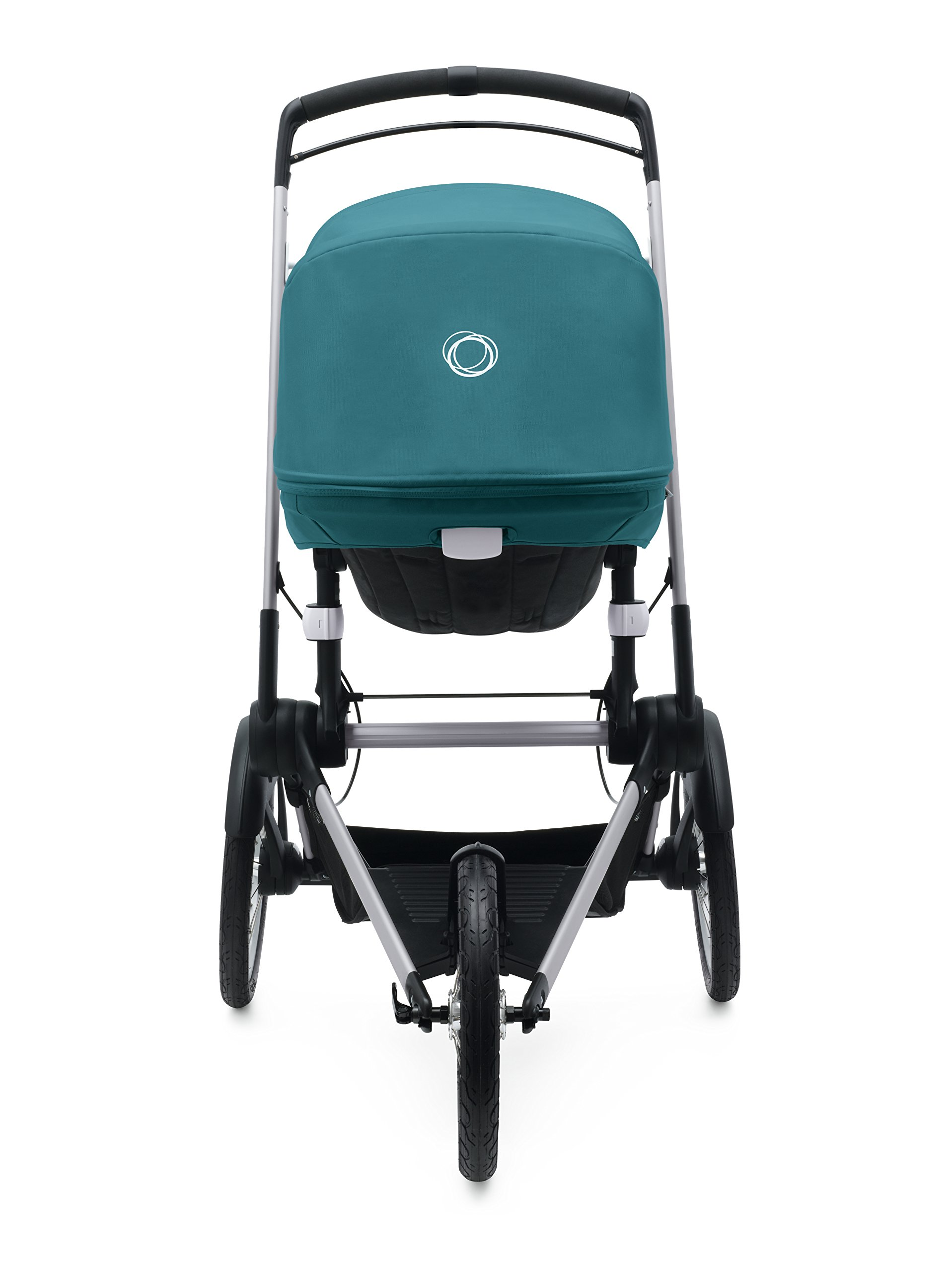Bugaboo Runner Complete Pushchair, Black/Petrol Blue Bugaboo  3