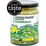 Loving Foods Award-Winning *Certified Organic* Sauerkraut (500g) Raw, Unpasteurised & Bursting with Beneficial Live…