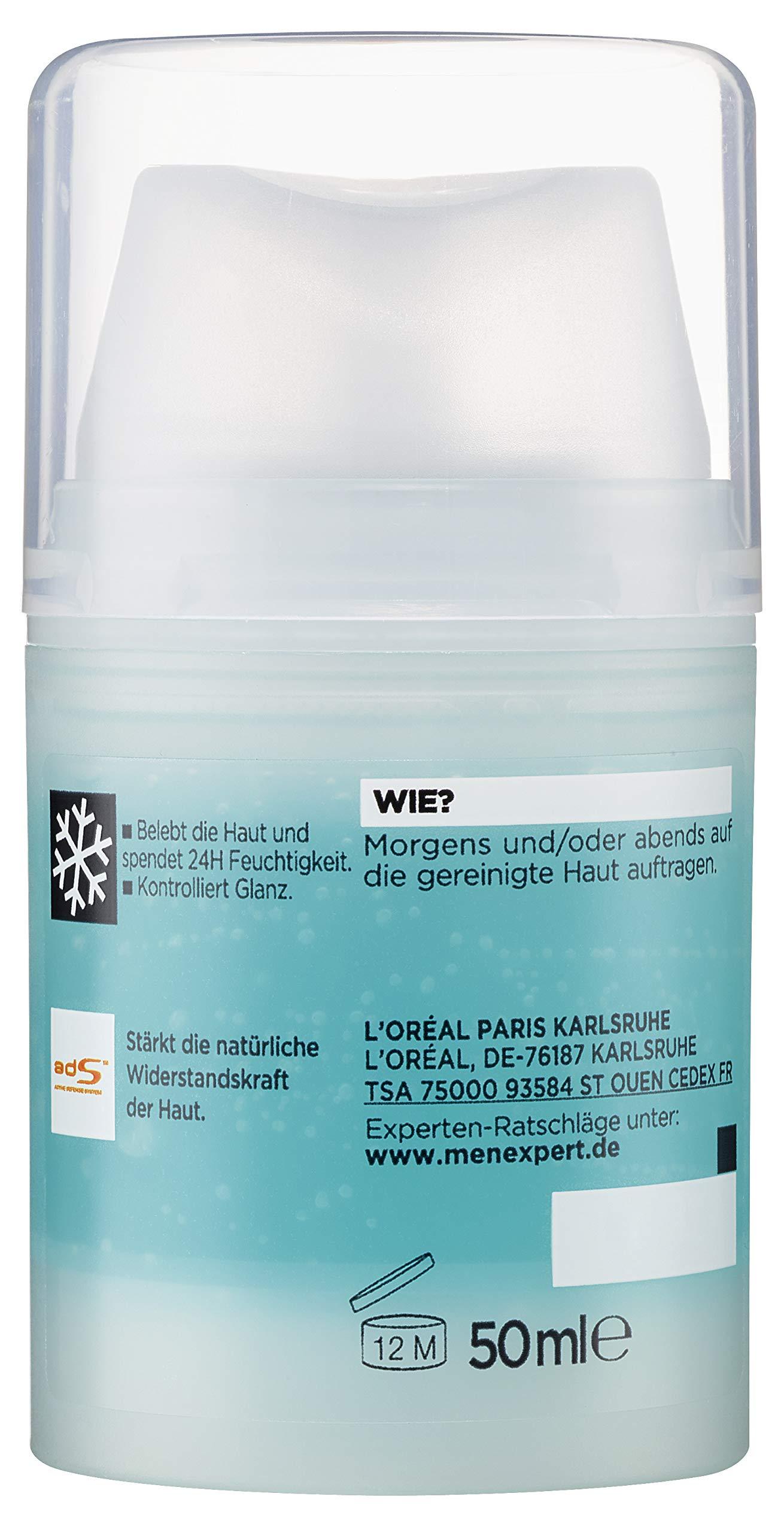 L'Oreal Men Expert – Quenching Hydra Energetic Maxi – Cuidado Anti-Fatiga Hombres – 50 ml