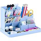 POPRUN Niños Portalápices,organizador de escritorio para lápices, organizador de bolígrafos,cajitas de almacenamiento para of