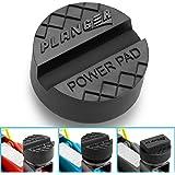 PLANGER - Power Pad - biljackgummikudde (ALLA STORLEKAR) Power Pad - för vagnjack - Skyddar din bil och SUV