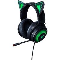 Razer Kraken Kitty Cuffie con Orecchie da Gatto e Illuminazione RGB Chroma, Microfono con Cancellazione Attiva del…