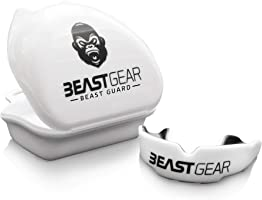 Beast Gear Mouth Guard/Gum Shield - for boxing, MMA, rugby, muay thai, hockey, judo, karate martial arts and all contact...
