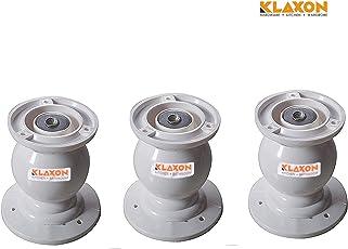 Klaxon Plastic Magnetic Door Catcher (Off-White, Set of 3)
