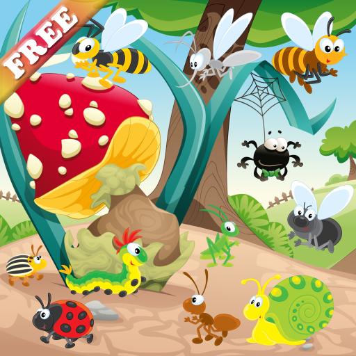 los-insectos-y-los-gusanos-juego-para-los-ninos-descubrir-el-mundo-de-los-insectos-juegos-para-ninos
