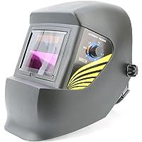 Spargo Masque de soudeur Protection Auto-Obscurcissant Alimenté au Solaire Noir Différents Modèles
