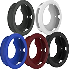 FitTurn Case for Garmin Vivoactive3, Shock-Proof and Shatter-Resistant Protective Band Cover Case for Garmin Vivoactive3(5PCS-1)