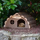 CKB Ltd Hérisson ou cochon d'Inde en bois pour l'extérieur de la maison d'habitat – Hôtel peut également être utilisé pour la