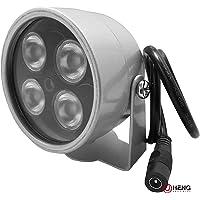 JC 4LED Überwachungskamera Infrarot-Nachtsicht IR-Licht Beleuchtungslampe 20m Für CCTV-Kamera und IP-Kamera