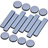 KUPINK 16 PCS Deslizadores Adhesivos Muebles Deslizadores de Muebles Protector Patas Sillas Protectores para Patas de Mesa