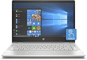 HP Pavilion x360 14-cd1005ne, 2 in 1 Laptop, Intel Core i3-8145U, 14 Inch, 1TB HDD, 4GB RAM, Windows 10, Eng-Ara KB, Silver