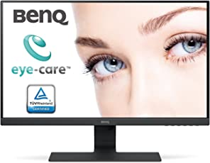BenQ 27 inch FHD Premium PC Monitor - IPS Panel, Edge to Edge Bezel Design, BI Tech, HDMI, VGA, DP connectivity & Speaker (GW2780)(Black)