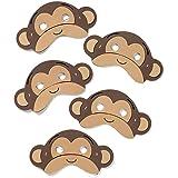 30 Gibbon Foam Masks by Blue Frog Toys *New Design* Childrens Monkey Masks