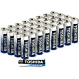Toshiba AA Alkaline Batteries 40 Pack | High Power | Extra Long Operating Time | LR06 Superior Japanese Quality | Super Value