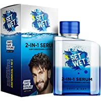 Set Wet 2-In-1 Serum, Soft & Set (Hair Serum For Men), 100 ml