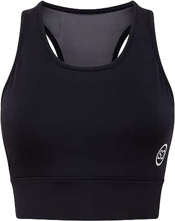 Sundried Reggiseno Sportivo Bassiera Womens Top Training Esecuzione di Allenamento di Ginnastica di Yoga