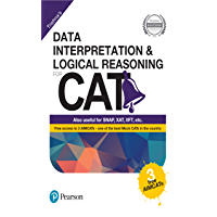 Data interpretation and Logical Reasoning for CAT by Pearson(with 3 Free AIMCATs)