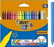 BIC Kids Elleri Kirletmeyen Pastel Boya, 18'li Kutu