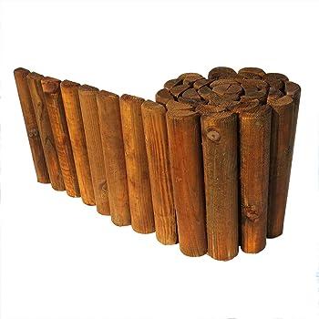 Windhager Beeteinfassung Bambusrolle Beetumrandung Bambuszaun