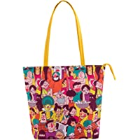 Colorful Faces of India Tote Bag