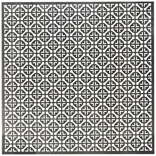 12 X 12 Mosaik (M-D Hobby & Craft Aluminium Metall Tabelle 12Zoll x 12Zoll, Mosaik)