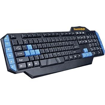 Cosmic Byte CB-GK-01 Vulcanoid Gaming Keyboard, 12 Multimedia Keys, 8 Gaming Keys, Anti-Ghosting