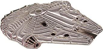 Spilla in metallo smaltato Star Wars (Starwars) Millennium Falcon (30 mm)