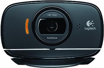 Logitech C525 HD Webcam (Black)