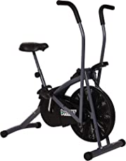Fitkit FK600 Steel Airbike with Free Installation (Black/Grey)
