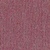 Exklusives Sortiment Designer Tweed Stoff | 100% Wolle | Pink Fischgrätenmuster Fensterscheibe Check Design | Ref 644027