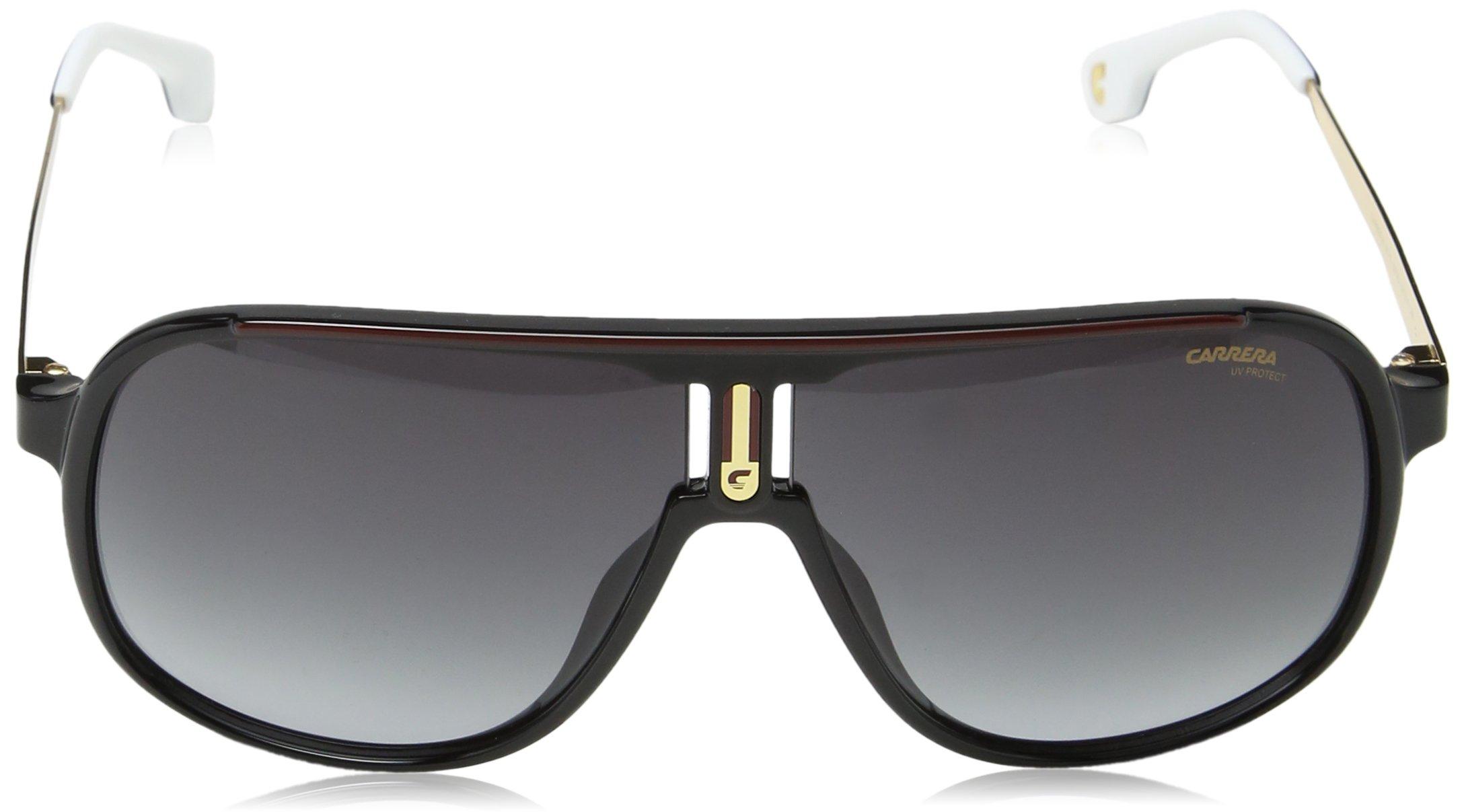Carrera 1007/S 9O 807 Gafas de Sol, Negro (Black/Dark Grey SF), 62 Unisex-Adulto