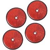 links//rechts HELLA 2SB 001 673-002 Heckleuchte mit Kunststoffscheibe 12V /& 8RA 002 016-121 R/ückstrahler