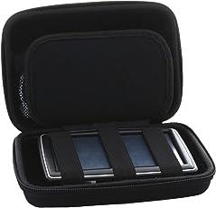 Universal Hardcase Navi Tasche für 7 Zoll (17,8cm) Navigationsgeräte für Becker / Blaupunkt / Garmin GPS Modelle - Navitasche SLIM