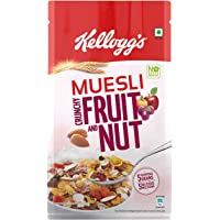 Kellogg's Muesli Crunchy Fruit and Nut, Multi-Grain Cereal, High in Iron, Vitamin B and Source of Fibre, 750g