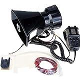 Yida 12V 80W 7 toon geluid auto sirene voertuig hoorn met Mic PA luidsprekersysteem noodsituatie geluid versterker auto siren