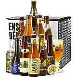 Coffret Bières Blonde - 11 bières et 1 verre - Idée cadeau