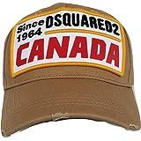 DSQUARED2 Cappello Berretto Baseball Uomo gabardi BCM0225 Beige