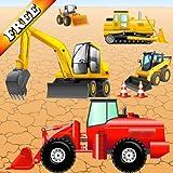 Puzzle mit Fahrzeugen und Bagger für Kleinkinder und Kinder: spielen mit den Bau Maschinen ! Educational Puzzle Spiele - KOSTENLOS