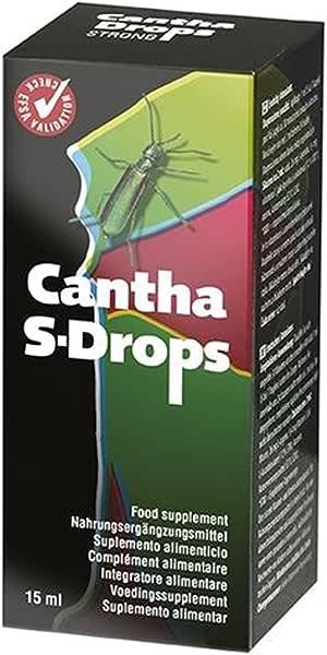 Cantha Drops zur effektiven Luststeigerung 15ml von Extasialand