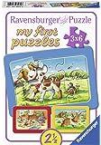 Ravensburger Kinderpuzzle 07062 Ravensburger 07062-my First Puzzle: Meine Tierfreunde-Kinderpuzzle